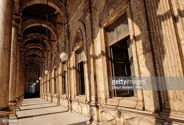 The Mohammed Ali Mosque in the Citadel on October 11 2009 in Cairo Egypt