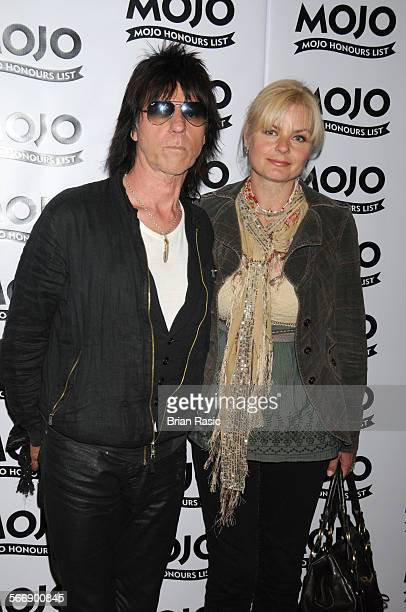 The Mojo Honours List Awards The Brewery London Britain 11 Jun 2009 Jeff Beck And Sandra Cash