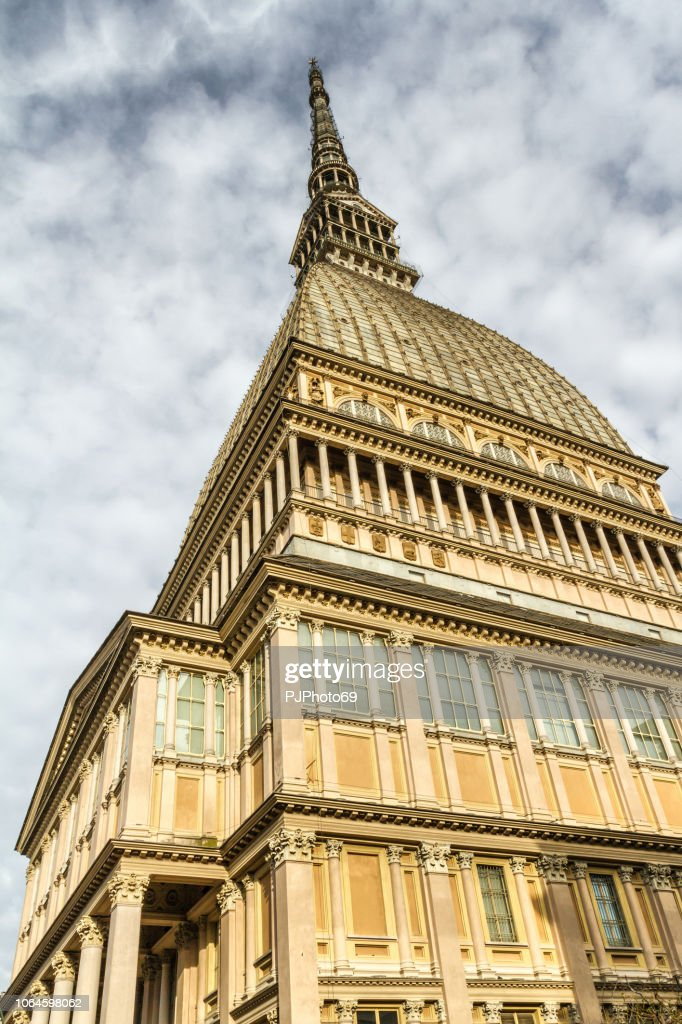 The Mole Antonelliana - Turin - Italy : Foto stock