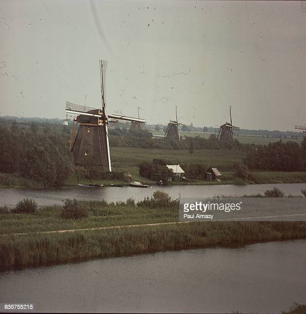 The Molens van Kinderdijk are a group of 19 windmills built in the 18th century to drain the surrounding land. This reclaimed land is known as...