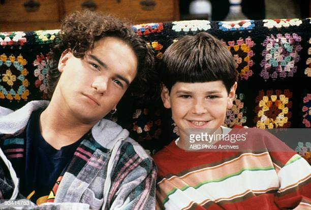 ROSEANNE The Mommy's Curse Season Six 9/21/93 Johnny Galecki Michael Fishman on the ABC Television Network comedy Roseanne Roseanne is the story of a...