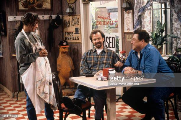 ROSEANNE 'The Mommy's Curse' Season Six 9/21/93 Laurie Metcalf Michael O'Keefe John Goodman on the ABC Television Network comedy 'Roseanne'...