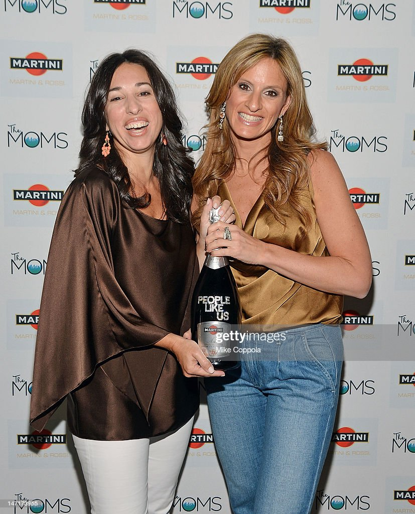 The Moms co-founders Melissa Gerstein (L) and Denise Albert celebrate the release of 'People Like Us' with MARTINI and The Moms at Disney Screening Room on June 26, 2012 in New York City.