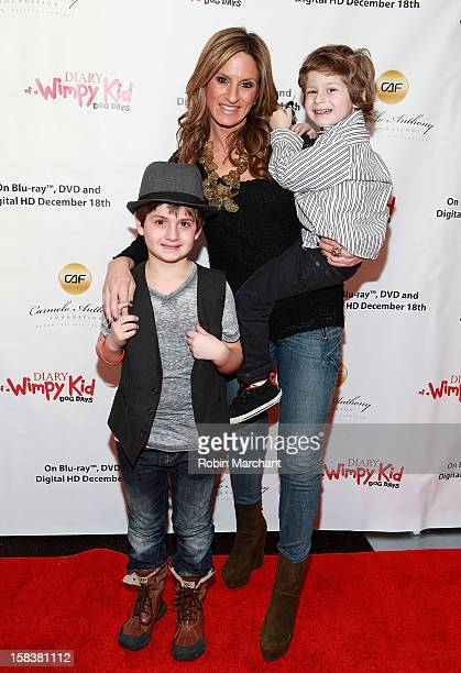 The Moms' Denise Albert attends the 'Diary Of A Wimpy Kid Dog Days' Special Screening Hosted By The Carmelo Anthony Foundation at AMC Empire on...