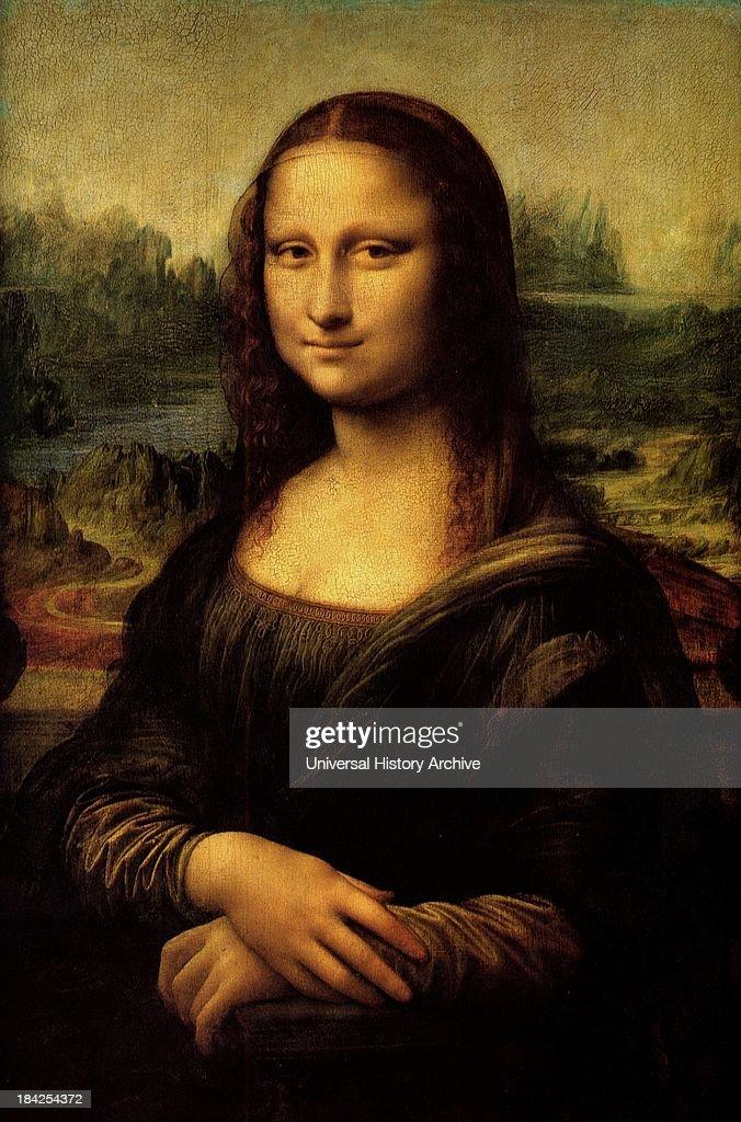 Mona Lisa painting : News Photo