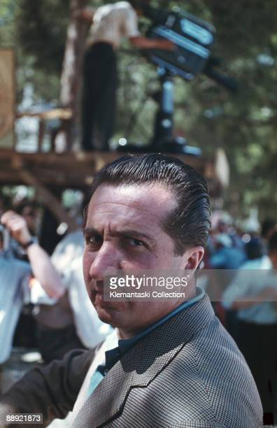 The Monaco Grand Prix Monte Carlo May 22 1955 A haunting portrait of Alberto Ascari taken shortly before the start at Monaco During the race while in...