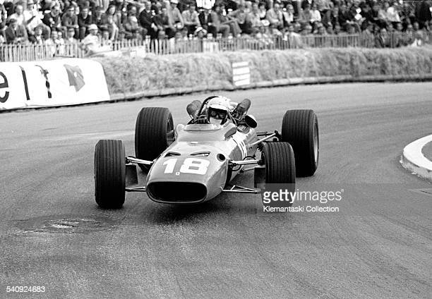 The Monaco Grand Prix Monte Carlo May 7 1967 Lorenzo Bandini at the Station Hairpin before his fatal accident at the Chicane