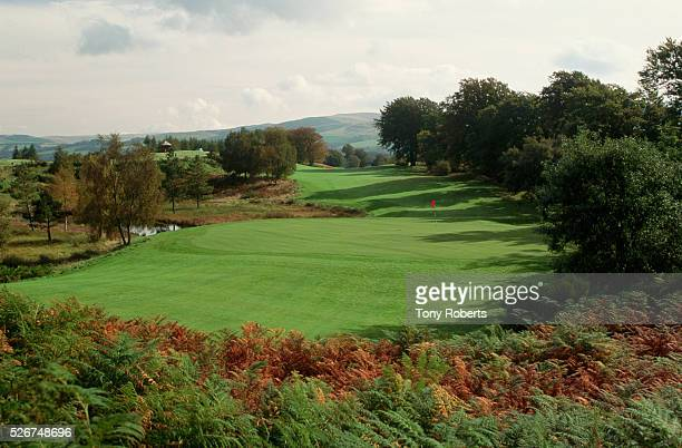 The Monarch's Course designed by Jack Nicklaus is one of the courses offered at the Gleneagles Hotel resort