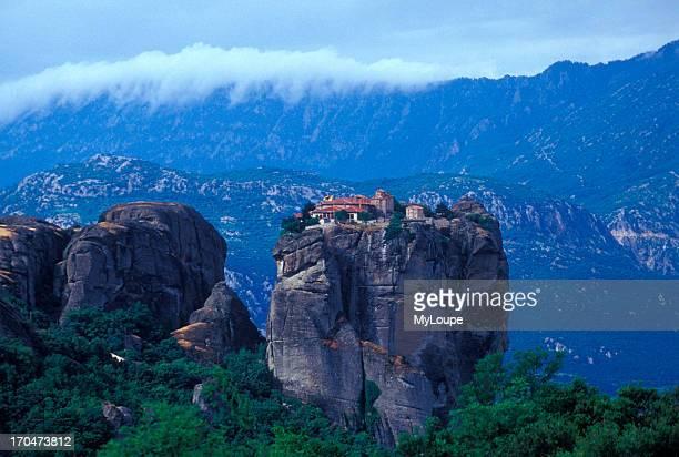 The Monastery of Holy Trinity Agia Triada in Meteora Greece