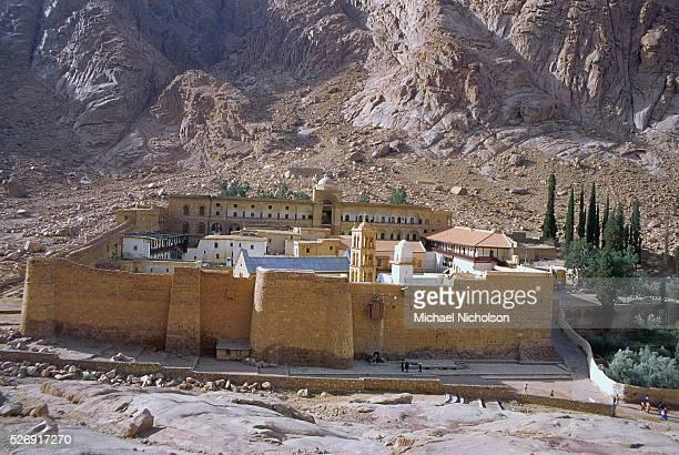The Monastery of Saint Catherine on Mount Sinai Egypt