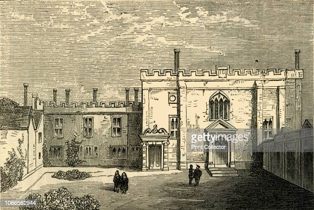 The Monastery of St. John of Jerusalem, Clerkenwell - The Chapel from the South', . The Priory of St John, of the Monastic Order of the Knights...