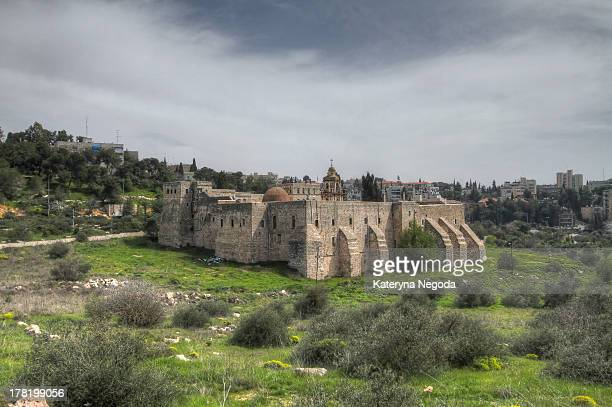 The Monastery of the Cross is an Orthodox monastery near the Nayot neighborhood of Jerusalem, Israel. It is located in the Valley of the Cross, below...