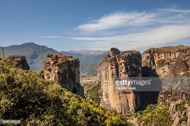 The Monastery of the Holy Trinity in Meteora