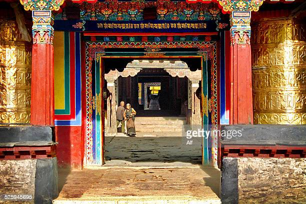 The monastery Trandruk or Changzhug