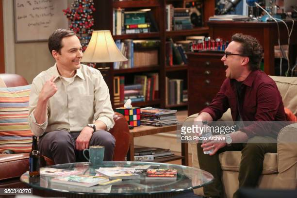 'The Monetary Insufficiency' Pictured Sheldon Cooper and Leonard Hofstadter Sheldon goes to Vegas to win money for science Also Penny and Bernadette...