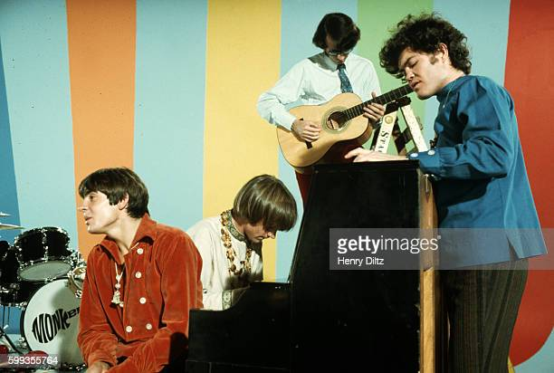 The Monkees sing and play instruments on their television show