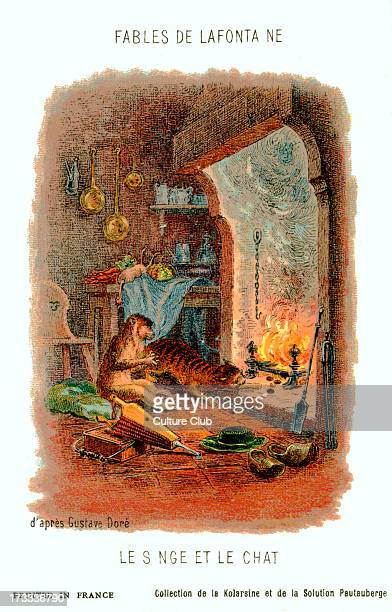 The Monkey and the Cat fable by La Fontaine After illustration by Gustave Doré Jean de La Fontaine French poet and fabulist 8 July 1621 – 13 April...