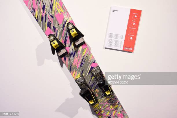 The Monoski the precursor to the modernday snowboard is displayed at The Museum of Failure in Los Angeles on December 7 2017 The Museum of Failure at...