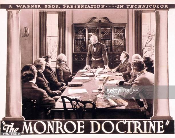 The Monroe Doctrine lobbycard Charles Waldron as James Monroe 1939