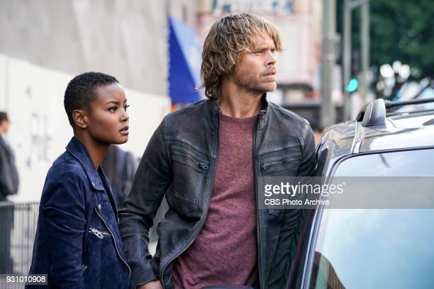 'The Monster'  Pictured Andrea Bordeaux and Eric Christian Olsen While investigating a missing person's case the team uncovers a killer who puts on...