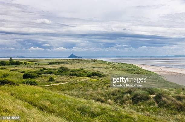 The Mont Saint Michel's bay from the Bec d'Andaine