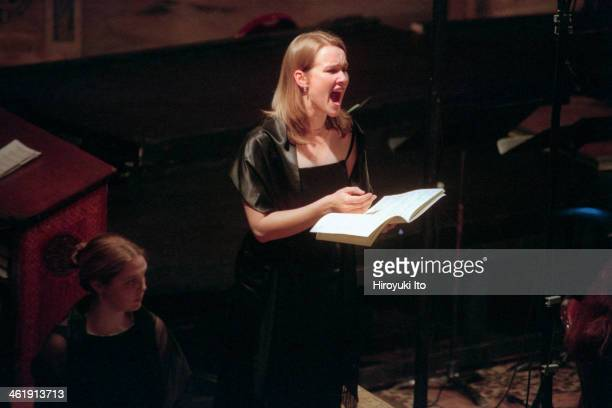 The Monteverdi Choir and the English Baroque Soloists performing in 'The Bach Cantata Pilgrimage' at St Bartholomew's Church on December 27 2000This...