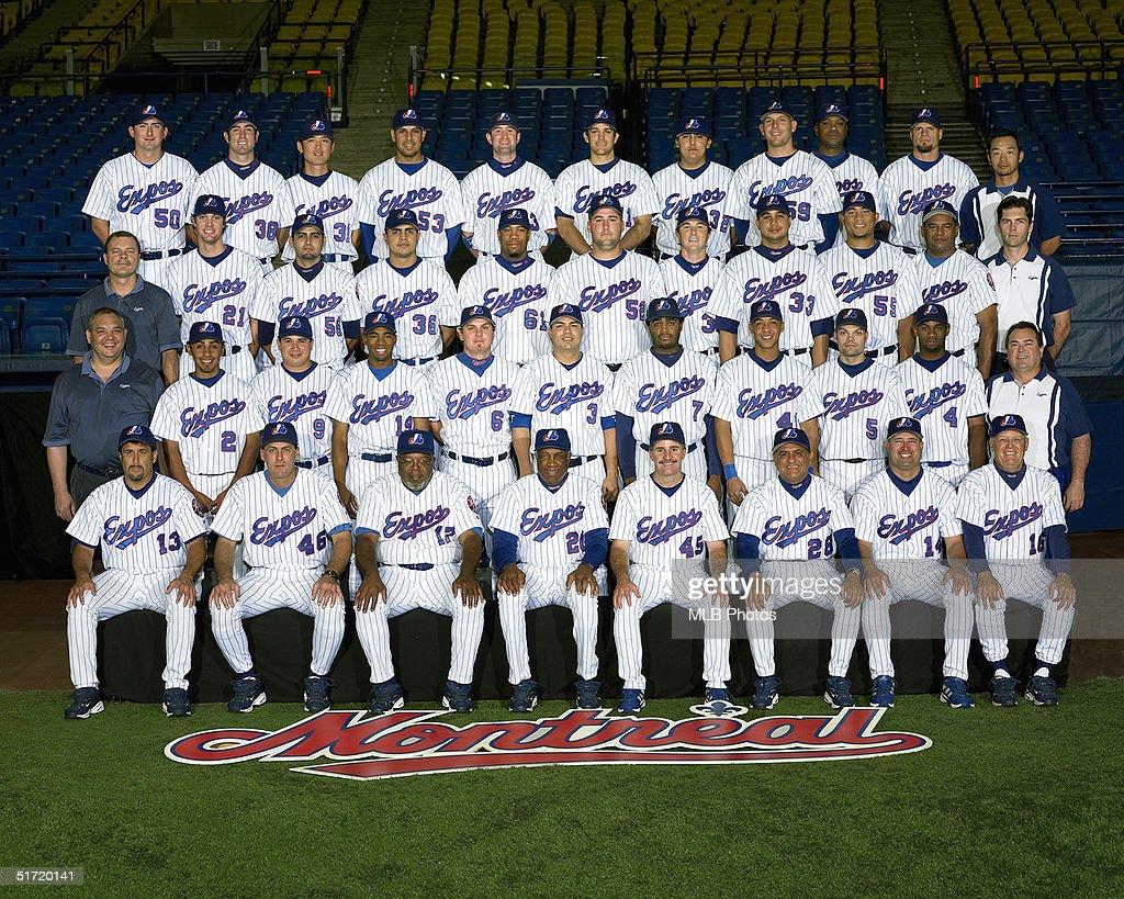 2004 Montreal Expos Team Photo : Foto di attualità
