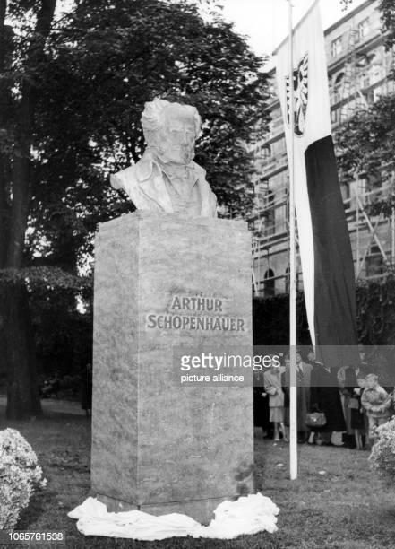 The monument of German philosopher Arthur Schopenhauer was unveiled on 21st September 1952 near its former location at Rechneigraben in Frankfurt...
