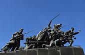 samara russia monument vasily chapaev samara