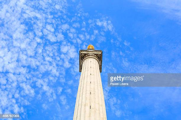 the monument - great fire of london stock pictures, royalty-free photos & images