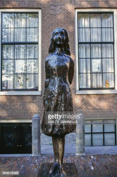 The monument to Anne Frank Amsterdam Netherlands