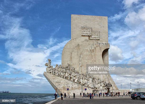 The Monument to the Discoveries aka Padrão dos Descobrimentos was inaugurated in 1960 to celebrate the Portuguese Age of Discovery of the 15th and...