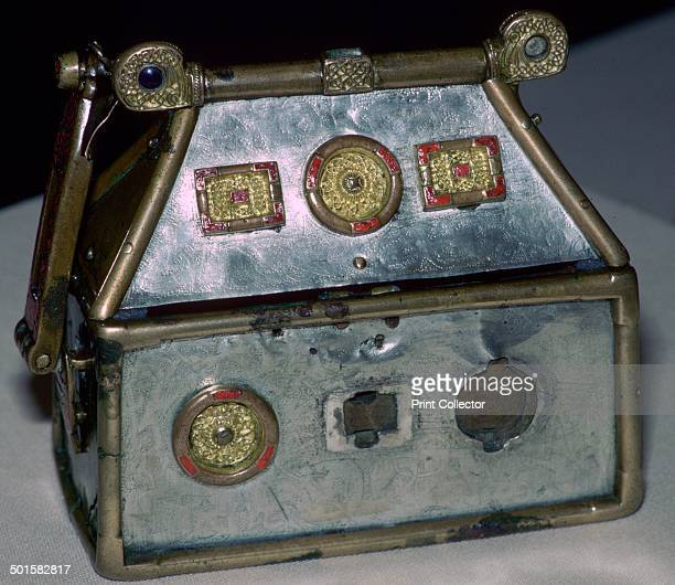 The Monymusk Reliquary is a blend of Pictish and Irish style probably made by monks It is said to have been the brechbrennoch of St Columba and was...