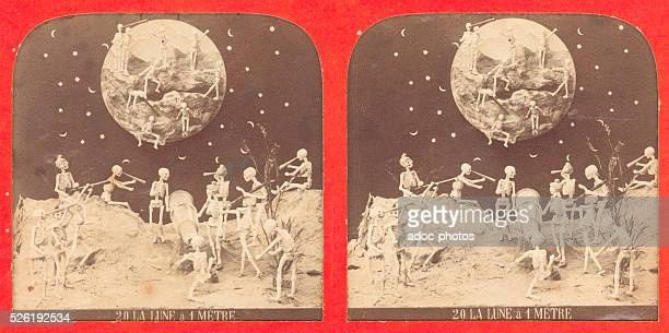 The moon at 1 meter Ca 1860