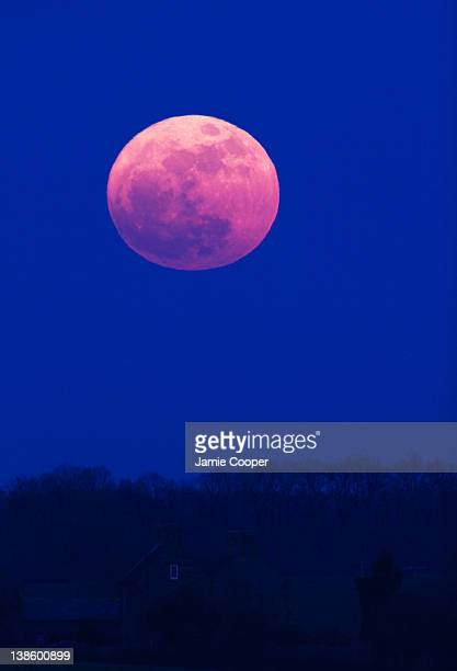 The moon at perigree on March 19 2011 at 1839 hours A perigree moon is a moon that is at its closest to earth The Supermoon is a full moon in...