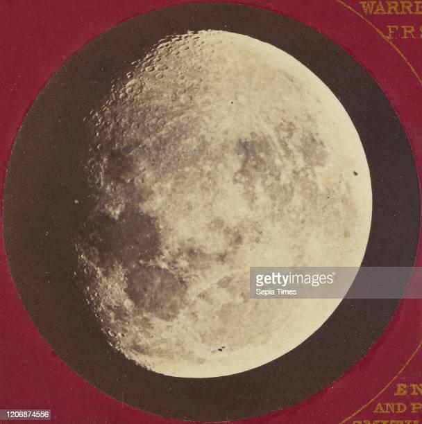 The Moon Aug. 12 Oct. 3 Warren De la Rue , Negative enlarged by Beck & Beck Smith, Beck & Beck Smith, negative August 12, 1862 and October 3 print...