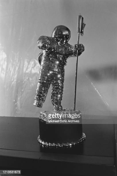 The 'Moon Person', one of the awards at the MTV Video Music Awards in Los Angeles, 5th September 1986.
