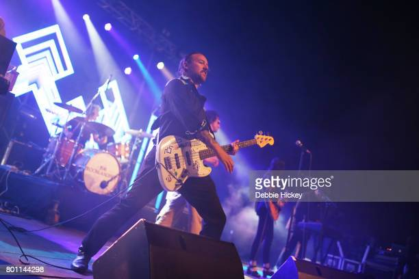 The Moonlandingz performs at Body Soul Festival at Ballinlough Castle on June 25 2017 in Co Westmeath Ireland