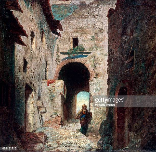 'The Moorish Gate', 1835. Found in the collection of the State A Pushkin Museum of Fine Arts, Moscow.
