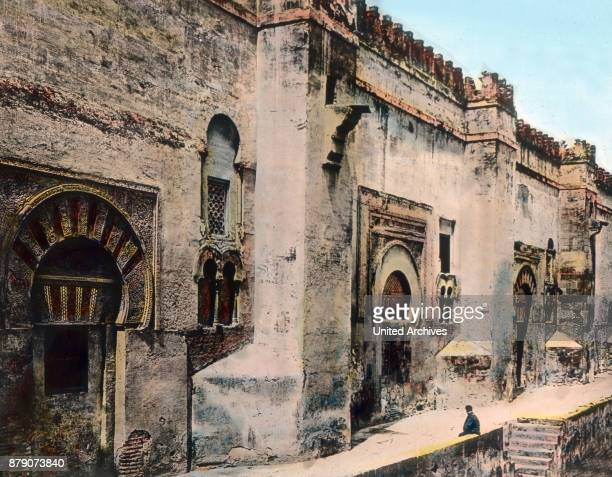 The Moors built in the city of Cordoba first its religious center the socalled Caliphate of Cordoba The Caliph is a secular ruler but also at the...