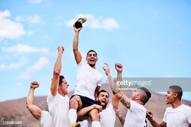 the more challenging the game, the greater the victory - sportsperson stock pictures, royalty-free photos & images