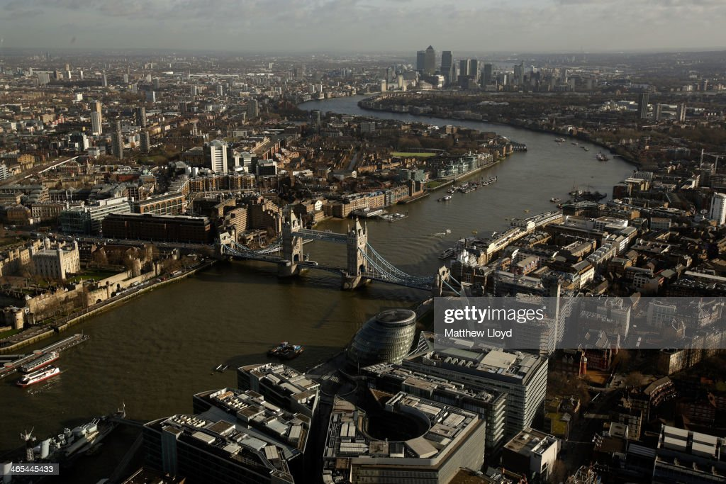 London Creating 80% Of The Private Sector Jobs In The UK : News Photo
