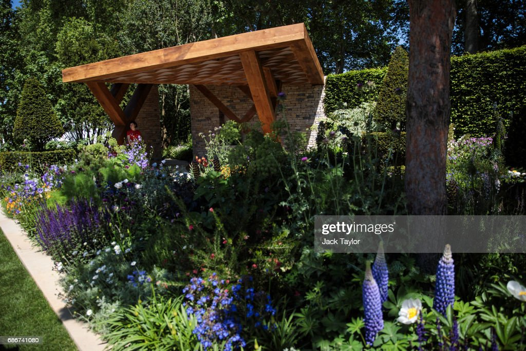 The 'Morgan Stanley Garden' on display at the Chelsea Flower Show on May 22, 2017 in London, England. The prestigious Chelsea Flower Show, held annually since 1913 in the Royal Hospital Chelsea grounds, is open to the public from the 23rd to the 27th of May, 2017.