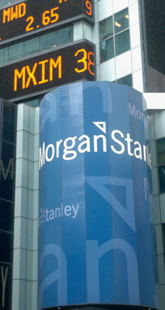 The Morgan Stanley Stock Symbol Mwd Scrolls Across The Tic