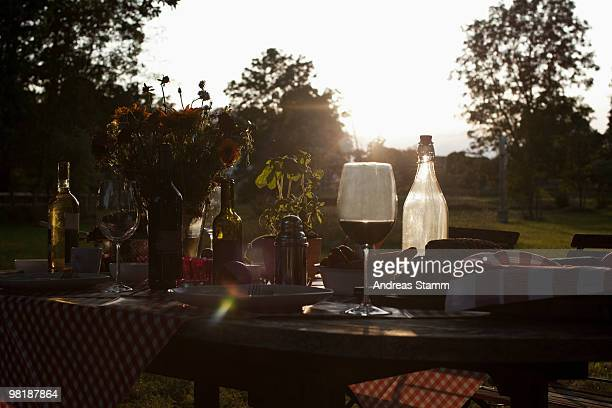 the morning after a dinner party - messy table after party stock pictures, royalty-free photos & images