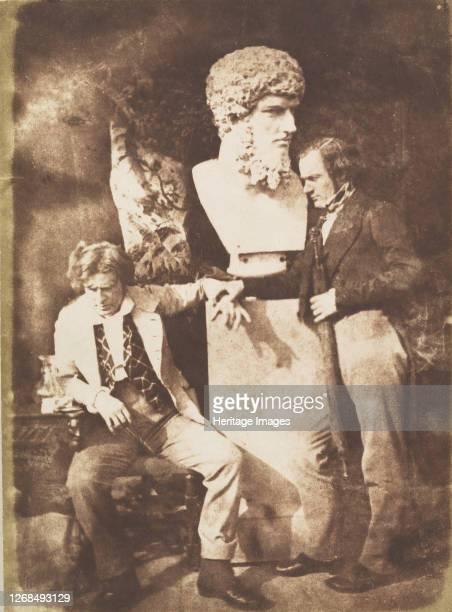 The Morning After He Greatly Daring Dined 184347 Artist David Octavius Hill Robert Adamson Hill Adamson