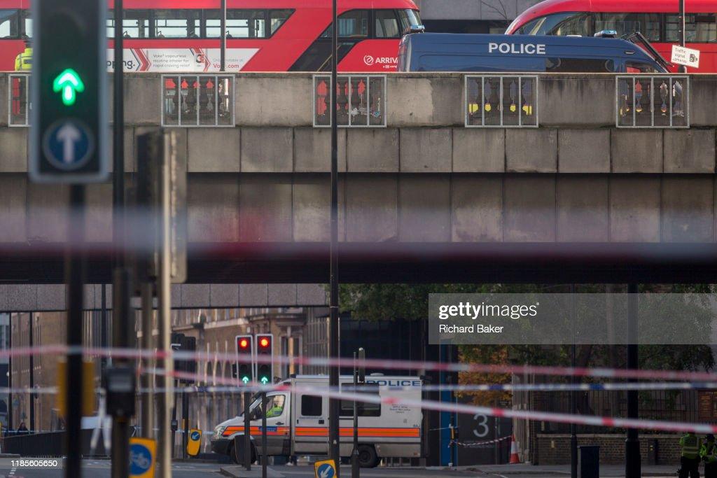 London Bridge Terrorist Attack Aftermath : News Photo