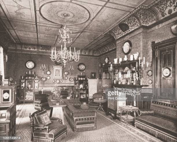 The Morning Room, Clarence House, London, 1894. Interior of one of the royal residences, designed by John Nash and built between 1825 and 1827. From...