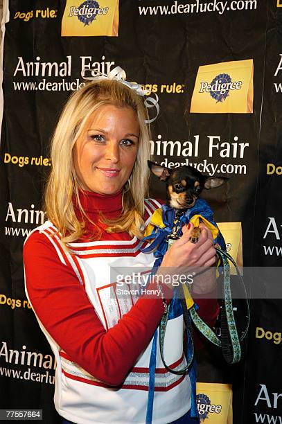 The Morning Show Cohost Juliet Huddy attends the Annimal Fair Magazine's 7th Annual Canine Halloween Pet Costume Party at Arena on October 29 2007 in...