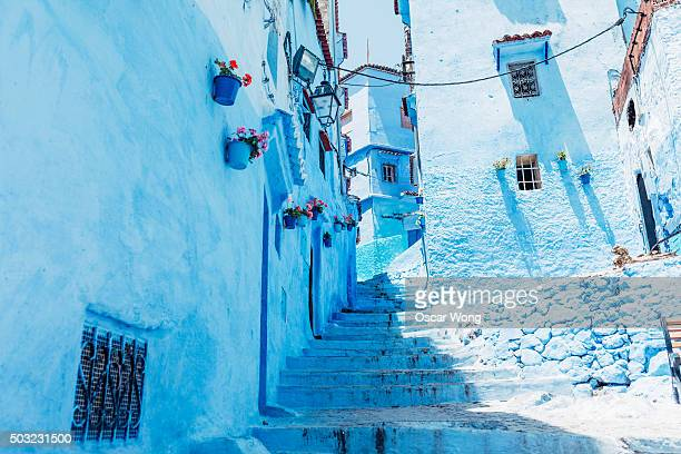 The Moroccan blue city, Chefchaouen